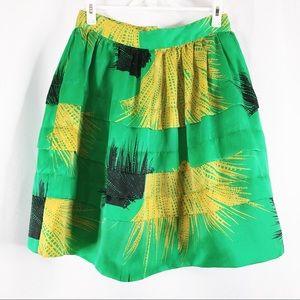 Anthropologie Sariah Woman's Ruffle Skirt Size 8